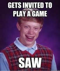 Brian Meme - bad luck brian meme boombotix skullyblog