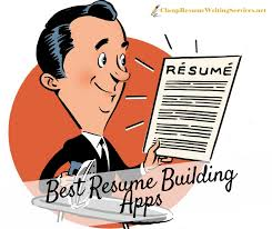 resume building top resume building app