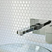 Smart Tiles Hexago  InW X  In H Decorative Mosaic Wall - Backsplash home depot