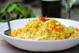 saffron and butternut squash risotto