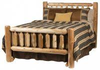 Cedar Log Bedroom Furniture by Cedar Log Bed Kits Rustic Furniture Malltimber Creek With Log