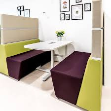 modular upholstered bench contemporary fabric commercial