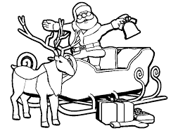 santa for christmas coloring pages for kids christmas coloring