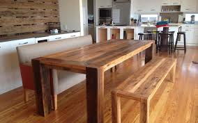 rustic dining table with bench dining room dining room tables made from reclaimed wood old rustic