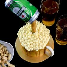 beer cake gravity defying cool beer cake unique birthday cakes for adults