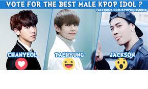 Vote Idol Vote For The Best Kpop Idol Facebookcomikpopidolsquizi Jackso