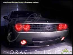Led Bulbs For Fog Lights by Oracle 08 14 Dodge Challenger W Pro Ccfl Halo Rings Headlights Bulbs