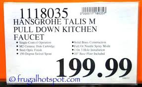 hansgrohe talis kitchen faucet hansgrohe talis kitchen faucet shn me