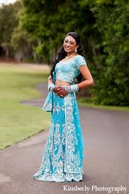 Reception Sarees For Indian Weddings Indian Wedding Reception Bridal Fashion Blue Lengha In Palm Harbor