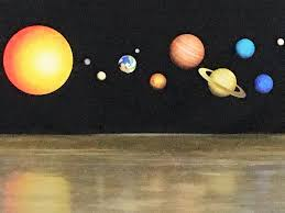 celebrating my grandchildren s birthdays the martha stewart blog fathead makes this solar system wall decal we used a long roll of black paper to create the outer space https www fathead com