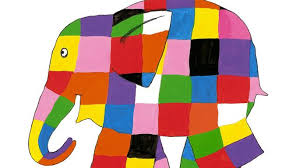 Patchwork Elephant Book - children s book of the week elmer and the race by david mckee