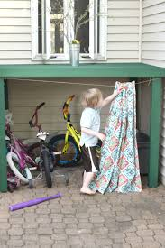 how to hide kids outdoor toys a diy storage solution u2022 our house