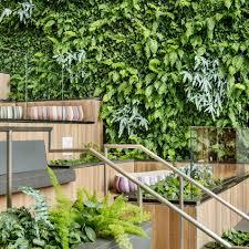 habitat horticulture del amo fashion center living wall