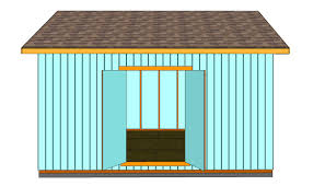 How To Build A Garden Shed Step By Step by How To Build Double Shed Doors Howtospecialist How To Build