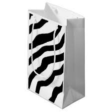 black and white striped gift bags small black white striped zebra and gift bags small black white