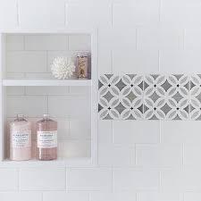 bathroom tile border ideas white shower tiles with gray border tiles framing tiled shower