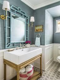 bathroom wallpaper ideas 287 best wallpapered bathroom images on bathrooms half
