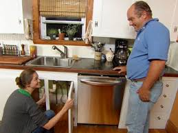 kitchen sink cabinet with dishwasher how to install a new dishwasher to a kitchen this house