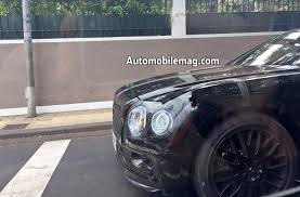 bentley flying spur 2019 bentley flying spur spied street testing automobile magazine