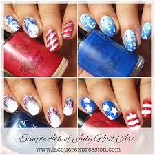 4 simple nail art looks for july 4th 2017 lacquerexpression