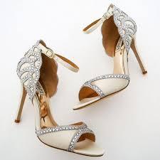 wedding shoes badgley mischka badgley mischka wedding shoes ivory 2529860 weddbook