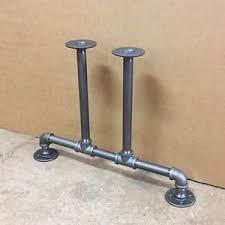 pipe table legs kit industrial pipe legs kit black iron fittings pipe table legs bench