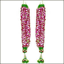 indian wedding garland price pair of petals garland to hyderabad chennai banglore india