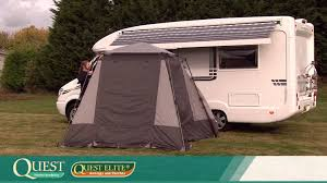 Awning For Motorhome Quest Elite Instant Motor Home Awning Youtube