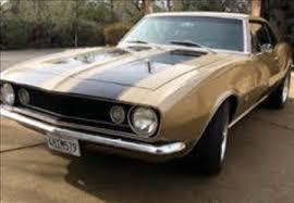 1967 chevy camaro used 1967 chevrolet camaro for sale wahiawa hi carsforsale com