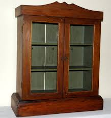 Wooden Cabinet With Glass Doors Interior Fascinating Wall Cabinets With Glass Doors Small Wall