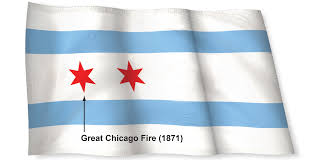 Reverse Color American Flag History Of The Chicago Flag Chicago Tribune