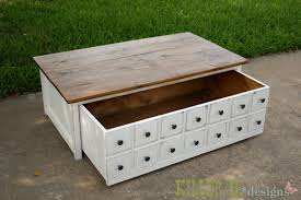 build a apothecary coffee table with toybox trundle free and