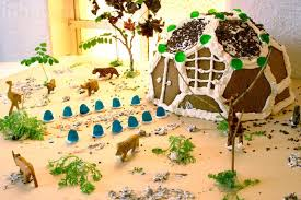 diy how to build an themed gingerbread geodesic dome