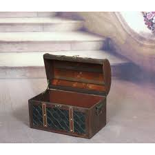 image result for vintage large pirates treasure chest jewelry box