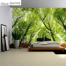 big size forest tree wall hanging tapestry blanket