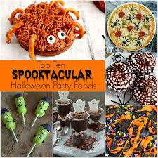 halloween party png top ten spooktacular halloween party foods delightful e made