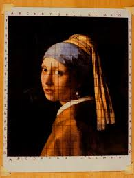 vermeer earring vermeer s artistic technique painting an copy of girl with a