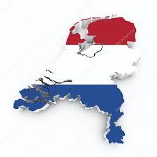 Map Netherlands Map Netherlands Flag U2014 Stock Photo Godard 30802159
