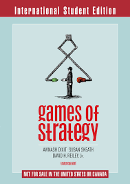 games of strategy amazon co uk avinash k dixit david h reiley