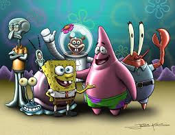 spongebob n u0027 friends by jessekwe on deviantart
