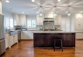 kitchen contractors island kitchen renovations from american craftsman