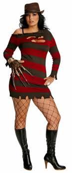 freddy krueger costume ms freddy krueger plus size costume mega fancy dress
