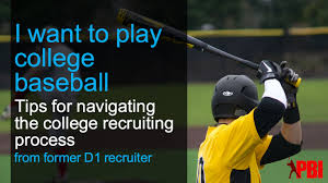 navigating the recruiting process tips for high baseball