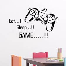 popular the art of wall murals buy cheap the art of wall murals creative eat sleep game vinyl wall art stickers gamer xbox 3 boys bedroom letter quotes home