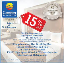 Comfort Inn Springfield Oregon Midwest Travel Buddy Missouri Midwest Hotel Coupons