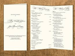 classic wedding programs 7 best wedding program images on wedding programs