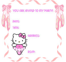 hello kitty invitation maker vertabox com