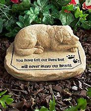 memorial stones for dogs pet memorial ebay