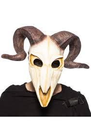 halloween skeleton mask ram skull mask for adults