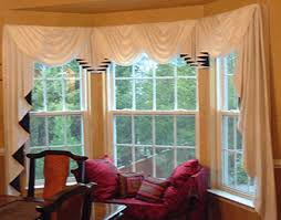 Curtains For Bay Window Bay Window Curtain Rods